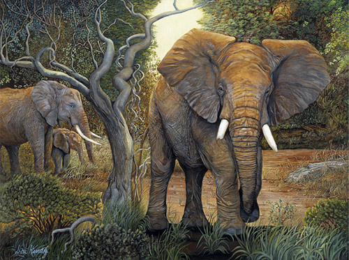 The Protector-Elephants